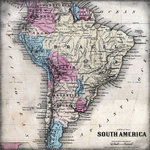 Scrapbook Customs - World Collection - South America - 12 x 12 Paper