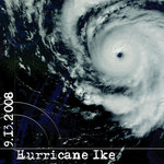 Scrapbook Customs - United States Collection - Texas - 12 x 12 Paper - Hurricane Ike