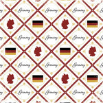 Scrapbook Customs - World Collection - Germany - 12 x 12 Paper - Discover