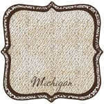 Scrapbook Customs - United States Collection - Michigan - 12 x 12 Die Cut Paper - State Shape