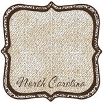 Scrapbook Customs - United States Collection - North Carolina - 12 x 12 Die Cut Paper - State Shape