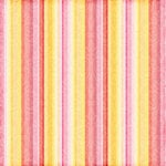 Scrapbook Customs - Travel Collection - 12 x 12 Paper - Paradise - Orange Stripe