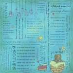 Scrapbook Customs - Religious Collection - 12 x 12 Paper - Quotes - Brother