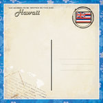 Scrapbook Customs - Vintage Label Collection - 12 x 12 Paper - Hawaii Vintage Companion