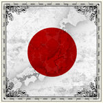 Scrapbook Customs - 12 x 12 Paper - Japan Sightseeing Flag