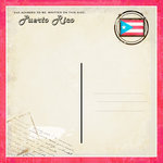 Scrapbook Customs - 12 x 12 Paper - Puerto Rico - Paradise Vintage Companion