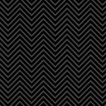Scrapbook Customs - 12 x 12 Paper - Magical Black Chevron