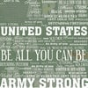 Scrapbook Customs - United States Military Collection - 12 x 12 Paper - Army Live For