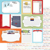 Scrapbook Customs - Travel Photo Journaling Collection - 12 x 12 Double Sided Paper - Arizona - Journal