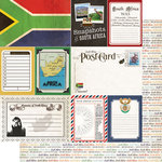 Scrapbook Customs - 12 x 12 Double Sided Paper - Journal - South Africa