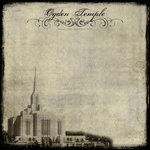 Scrapbook Customs - LDS Collection - 12 x 12 Paper - Ogden UT - Vintage Temple