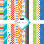 Scrapbook Customs - Birthday Collection - 12 x 12 Paper Pack