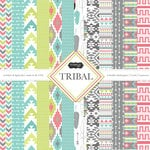 Scrapbook Customs - Tribal Collection - 12 x 12 Paper Pack
