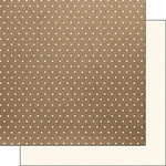 Scrapbook Customs - 12 x 12 Single Sided Paper - Craft Dots