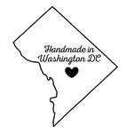 Scrapbook Customs - State Sightseeing Collection - Rubber Stamp - Handmade In - Washington DC