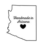 Scrapbook Customs - State Sightseeing Collection - Rubber Stamp - Handmade In - Arizona