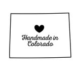 Scrapbook Customs - State Sightseeing Collection - Rubber Stamp - Handmade In - Colorado