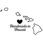 Scrapbook Customs - State Sightseeing Collection - Rubber Stamp - Handmade In - Hawaii