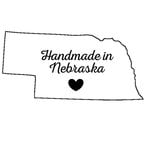 Scrapbook Customs - State Sightseeing Collection - Rubber Stamp - Handmade In - Nebraska