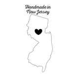 Scrapbook Customs - State Sightseeing Collection - Rubber Stamp - Handmade In - New Jersey