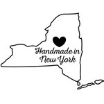 Scrapbook Customs - State Sightseeing Collection - Rubber Stamp - Handmade In - New York