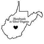 Scrapbook Customs - State Sightseeing Collection - Rubber Stamp - Handmade In - West Virginia