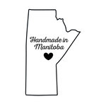 Scrapbook Customs - Canadian Provinces Sightseeing Collection - Rubber Stamp - Handmade In - Manitoba