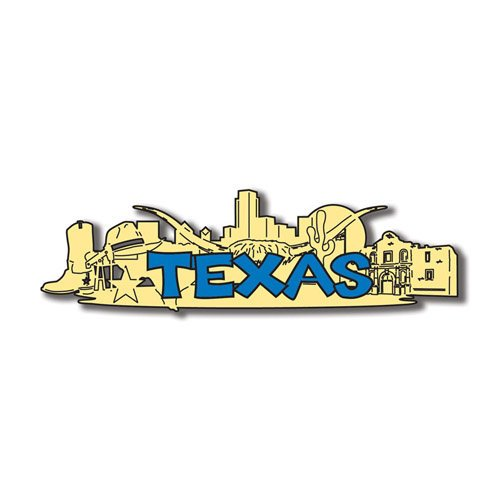 Scrapbook Customs - United States Collection - Texas - Laser Cut - Word and Background