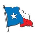 Scrapbook Customs - United States Collection - Texas - Laser Cut - Texas Flag
