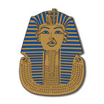 Scrapbook Customs - World Collection - Egypt - Laser Cut - King Tut