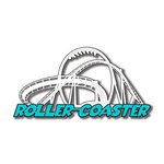 Scrapbook Customs - United States Collection - Florida - Laser Cut - Roller Coaster 2