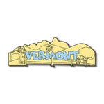 Scrapbook Customs - United States Collection - Vermont - Laser Cut - Word and Background