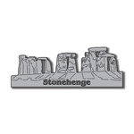 Scrapbook Customs - World Collection - England - Laser Cut - Stonehenge