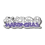 Scrapbook Customs - United States Collection - Louisiana - Laser Cut - Mardi Gras - Word and Background