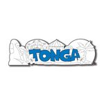 Scrapbook Customs - World Collection - Tonga - Laser Cut - Word and Background