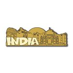 Scrapbook Customs - World Collection - India - Laser Cut - Word and Background