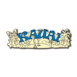 Scrapbook Customs - United States Collection - Hawaii - Laser Cut - Kauai - Word and Background