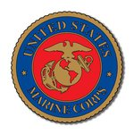 Scrapbook Customs - Military Collection - Laser Cut - Marines Emblem
