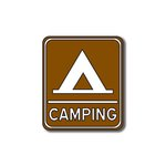 Scrapbook Customs - Sports Collection - Laser Cut - Camping Sign