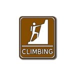 Scrapbook Customs - Sports Collection - Laser Cut - Climbing Sign