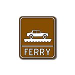 Scrapbook Customs - Sports Collection - Laser Cut - Ferry Sign