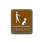 Scrapbook Customs - Sports Collection - Laser Cut - Leashed Pets Sign