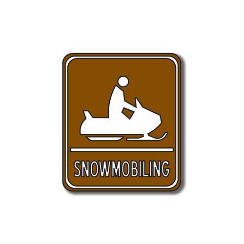 Scrapbook Customs - Sports Collection - Laser Cut - Snowmobiling Sign