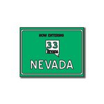 Scrapbook Customs - United States Collection - Nevada - Laser Cut - Now Entering Sign