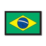 Scrapbook Customs - World Collection - Brazil - Laser Cut - Flag