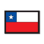 Scrapbook Customs - World Collection - Chile - Laser Cut - Flag
