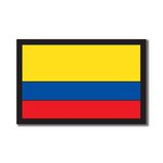 Scrapbook Customs - World Collection - Colombia - Laser Cut - Flag