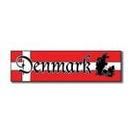 Scrapbook Customs - World Collection - Denmark - Laser Cut - Travel Topper