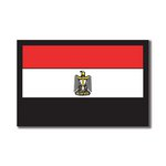 Scrapbook Customs - World Collection - Egypt - Laser Cut - Flag