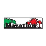 Scrapbook Customs - World Collection - Mexico - Laser Cut - Mazatlan - Travel Topper